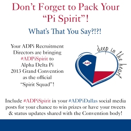 ADPi Spirit Graphic