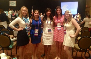 Beta Phi chapter members with former Leadership Consultant Lori Corley This is Beta Phi and Lori Corley.