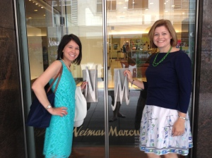 Of course, IOs did have a few hours of free time. Some of the RMDs made a quick stop at Neiman Marcus. Duh!