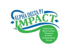 IMPACT Alpha Delta Pi logo.