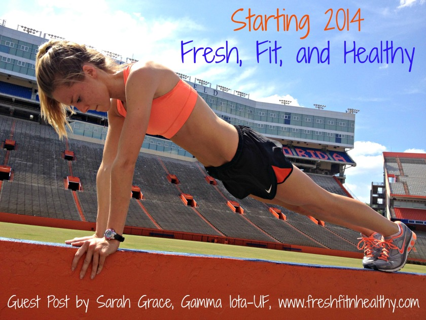 Starting 2014 Fresh, Fit and Healthy | www.alphadeltapiblog.com