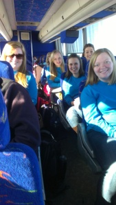 The bus ride to DLC!