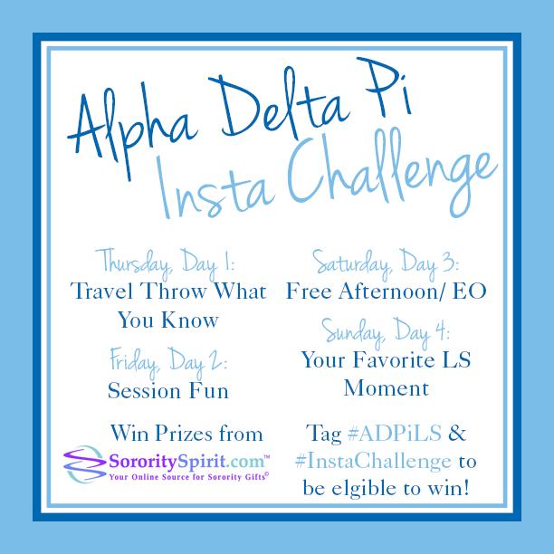 Alpha Delta Pi LS Instagram Challenge