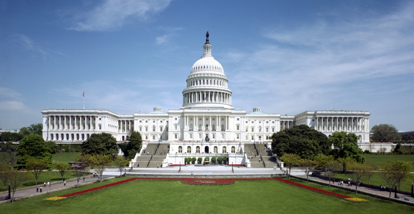 """United States Capitol - west front"" by Architect of the Capitol - aoc.gov. Licensed under Public domain via Wikimedia Commons - http://commons.wikimedia.org/wiki/File:United_States_Capitol_-_west_front.jpg#mediaviewer/File:United_States_Capitol_-_west_front.jpg"