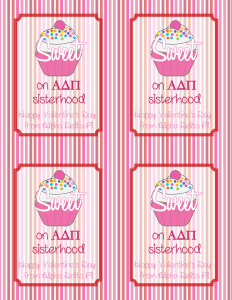 Sweet on Sisterhood Valentines Day