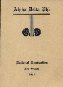 1907 CONVENTION PROGRAM1061