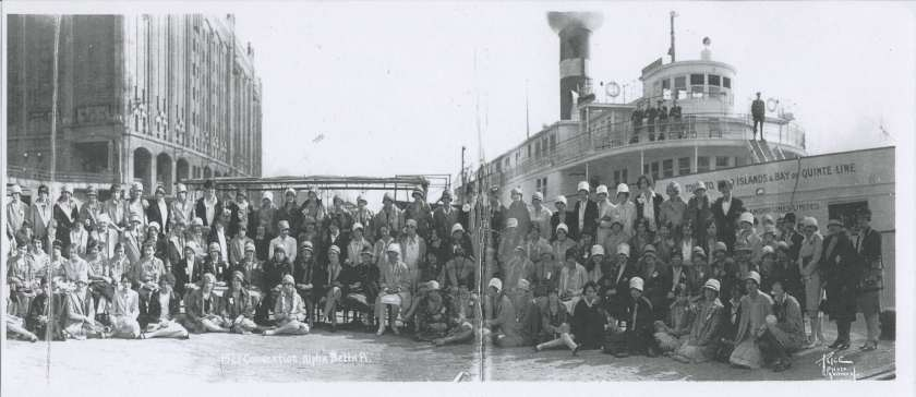 1927 Convention S.S. Trinity St Lawrence River v1