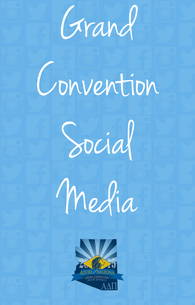 Grand Convention Social Media | Alpha Delta Pi Blog