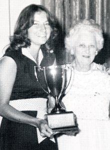 Brenda Welch AO and Maxine Blake Golden Lion Award 1977