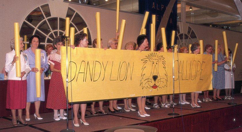 Dandy Lion Calliope 1989 Convention