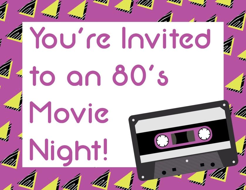 Movie Night Invite  2
