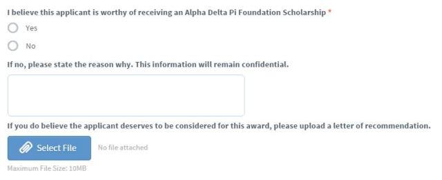 Scholarship Rec Letter Help
