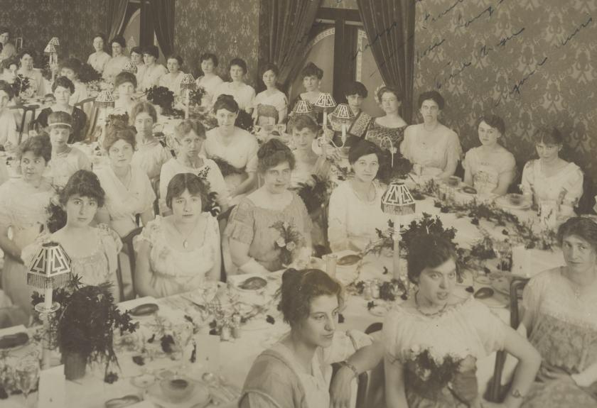 1913 convention banquet