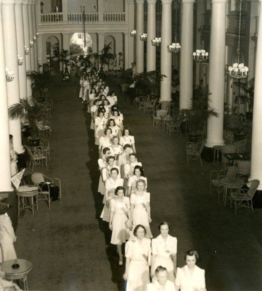 1941 Convention first white dress processional