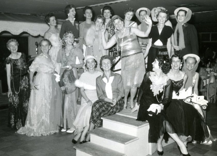 1957 Convention Oldtimers' fashion show