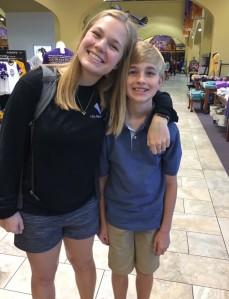 Hannah and Bro4
